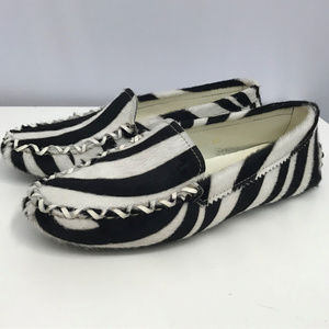 Tod's Shoes - TODS Pony Hair Loafers Worn Once SZ 5 1/2